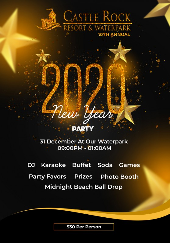 New Year 2020 Party